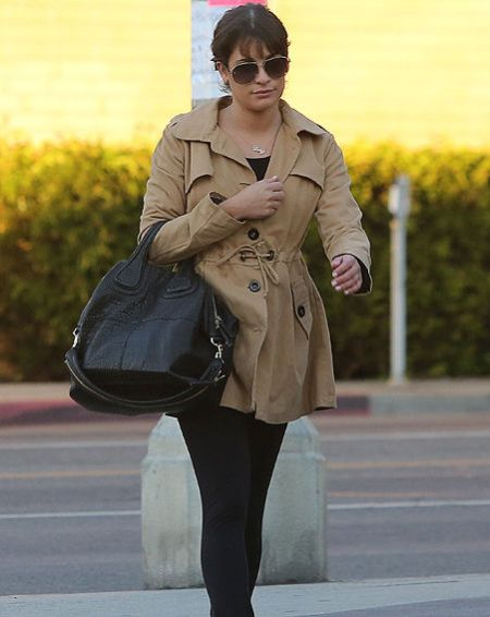 Lea Michele Spotted in Public