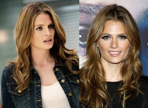 Stana Katic nose job before after pictures