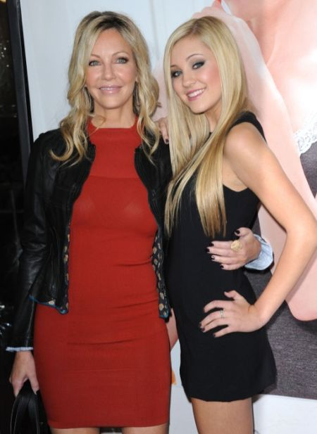 Heather Locklear and her daughter Ava walked