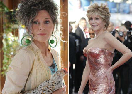 Jane Fonda at 74